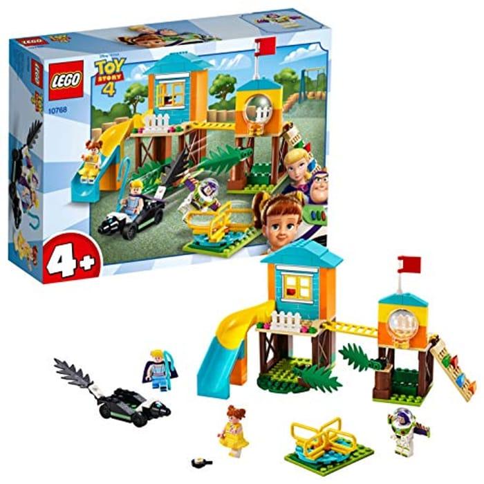 LEGO 10768 4+ Toy Story 4 Buzz and Bo Peeps Playground Adventure