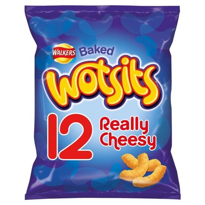 Walkers Wotsits Cheese 12X16.5G - Save £1.45 at Tesco