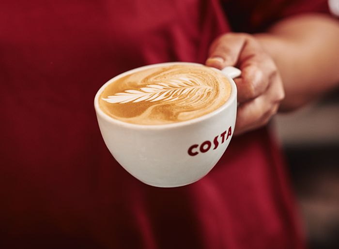 Free Coffee from Costa Express Machine in Esso on Tuesday 25 June 2019