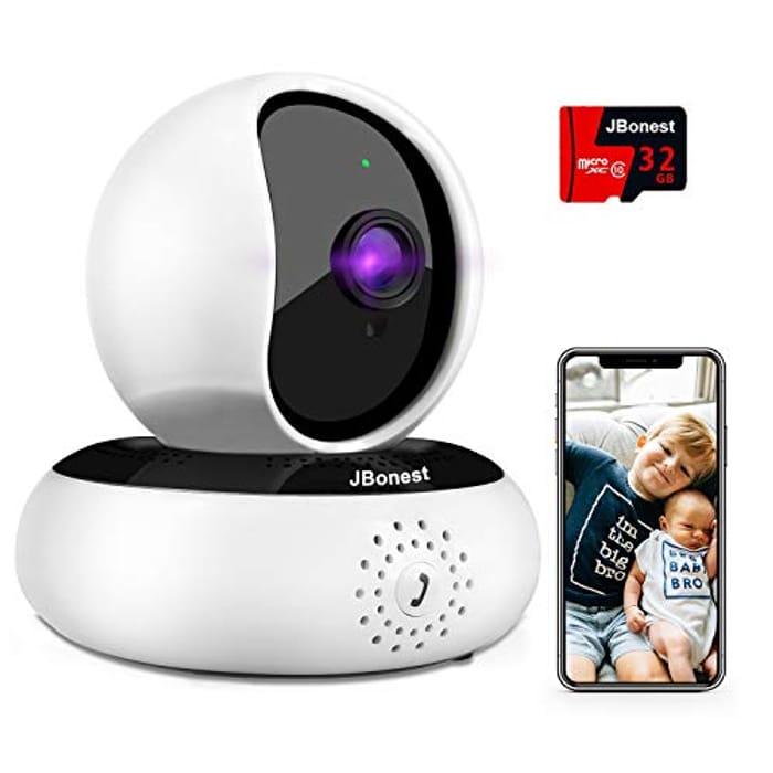 Price Drop! WiFi Camera 1080P Security System Pan Tilt Camera with Night Vision