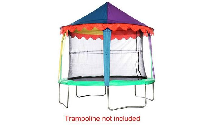 12ft TRAMPOLINE CIRCUS TENT CANOPY