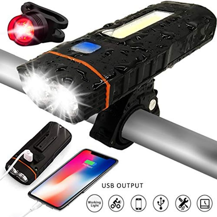 USB Rechargeable Bicycle Lights