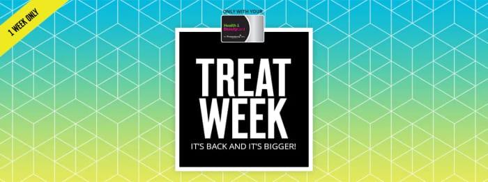 SUPERDRUG - Treat Week - 26th June - 2nd July