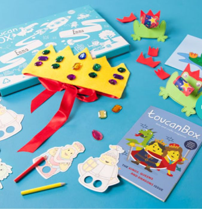 Free Kids Craft Box (Worth £8.95)