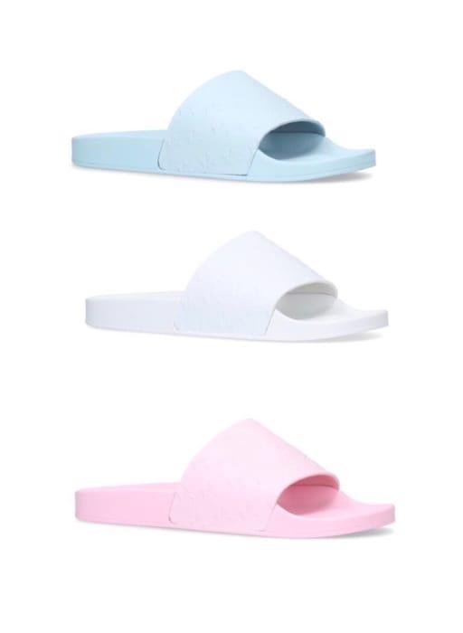 Mens Kurt Geiger Sliders - Blue, White or Pink