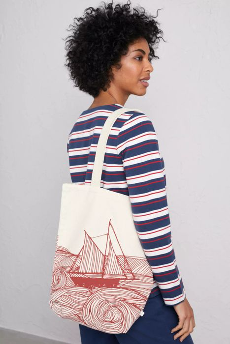 Canvas Shopper at Seasaltcornwall Half Price