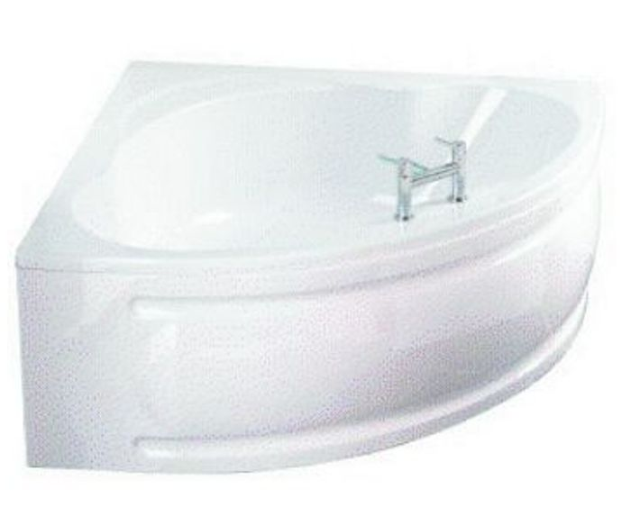 Wickes Palma Right Hand White Corner Bath - 1350mm Only £75