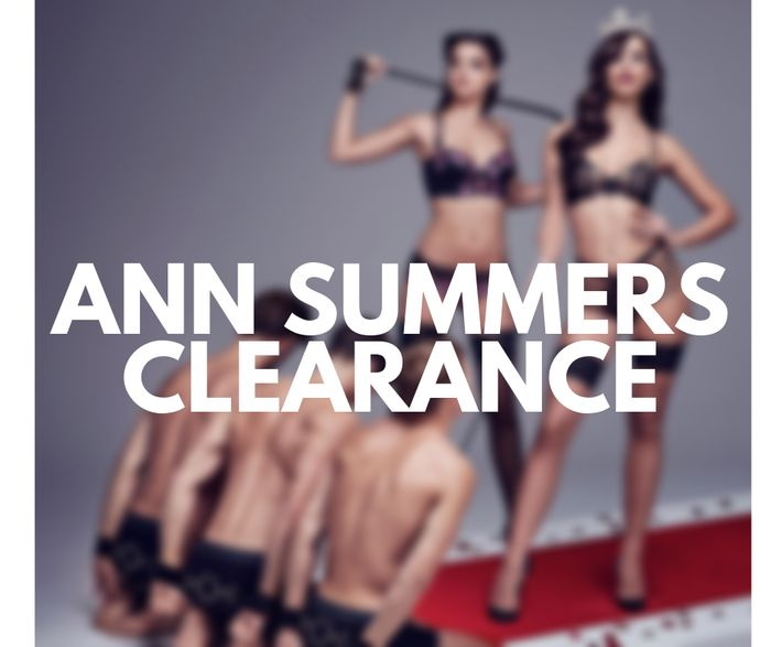 Ann Summers CLEARANCE LINGERIE under £10