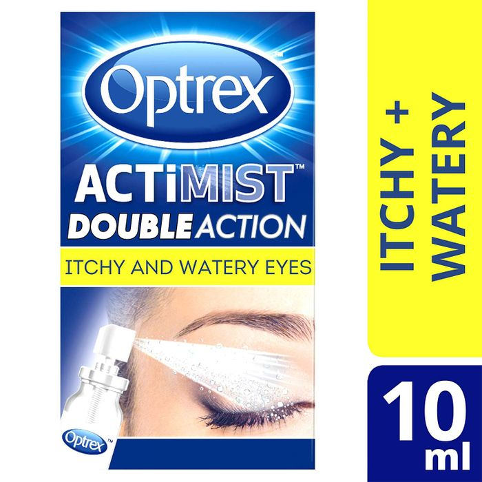 SAVE £5.46 + FREE DELIVERY. Optrex Actimist 2-in-1 Spray for Itchy & Watery Eyes