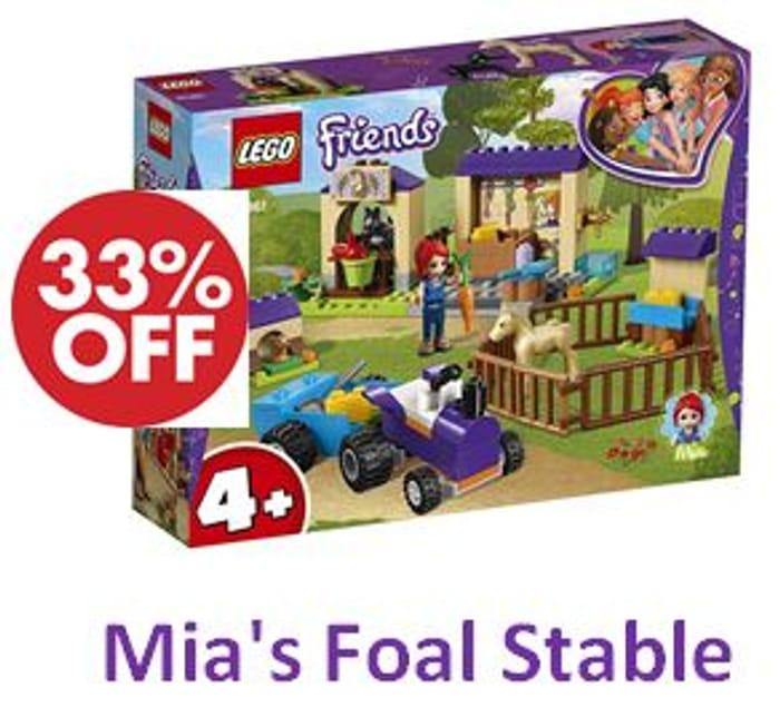 LEGO Friends - Mia's Foal Stable (41361)