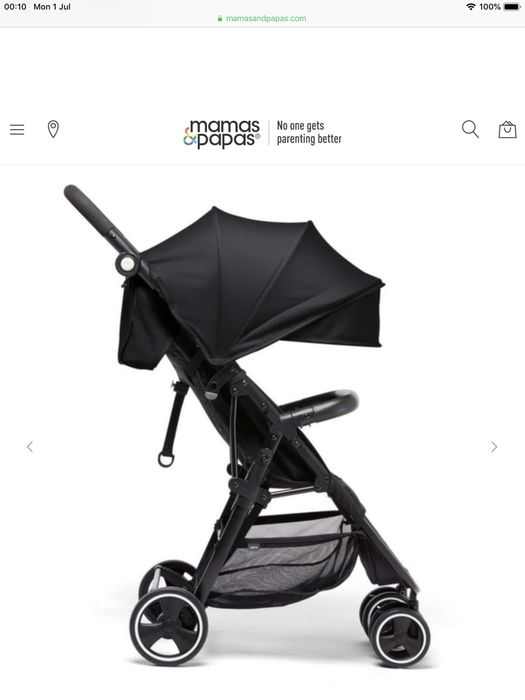 Acro Lightweight Buggy Black for £90 Delivered
