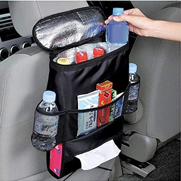 Car Back Seat Multi Storage Organiser with Tablet Holder and Pockets