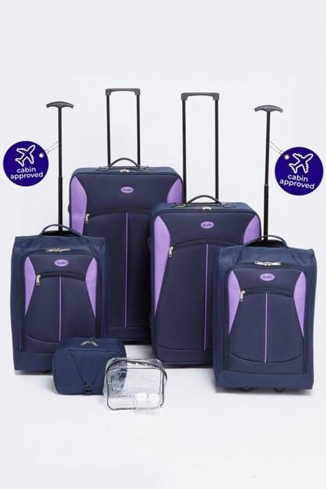 6-Piece Complete Luggage Set at Studio