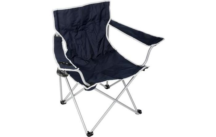 Halfords Camping Arm Chair - Navy Or Green