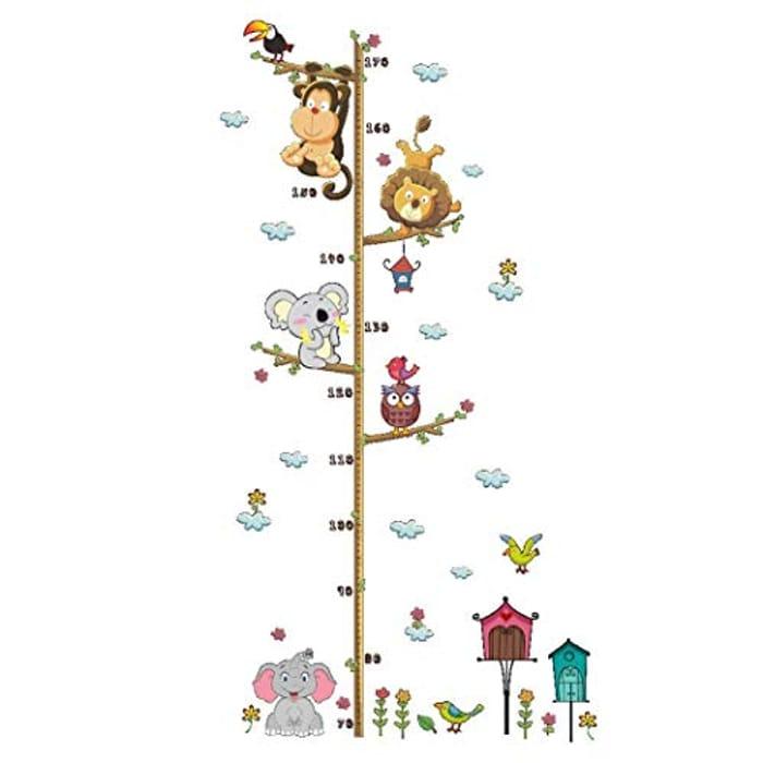 Cute Cartoon Self-Adhesive Children Height