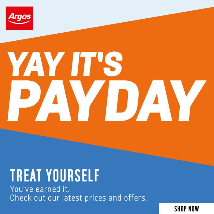 LAST DAY - Argos Pay Day Mega Sale!