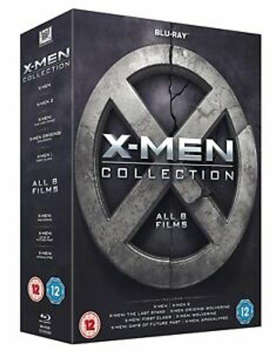 X-Men Collection (Blu-Ray) [8 Films] £7.99 Delivered at eBay