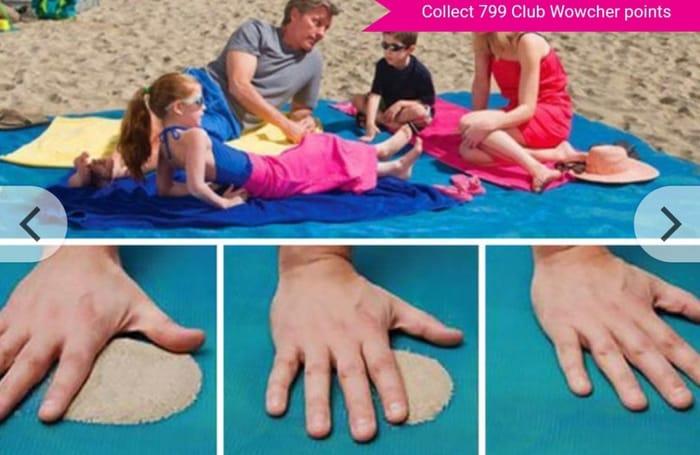 Magic Anti-Sand Beach Mat - 3 Colours & 2 Sizes!