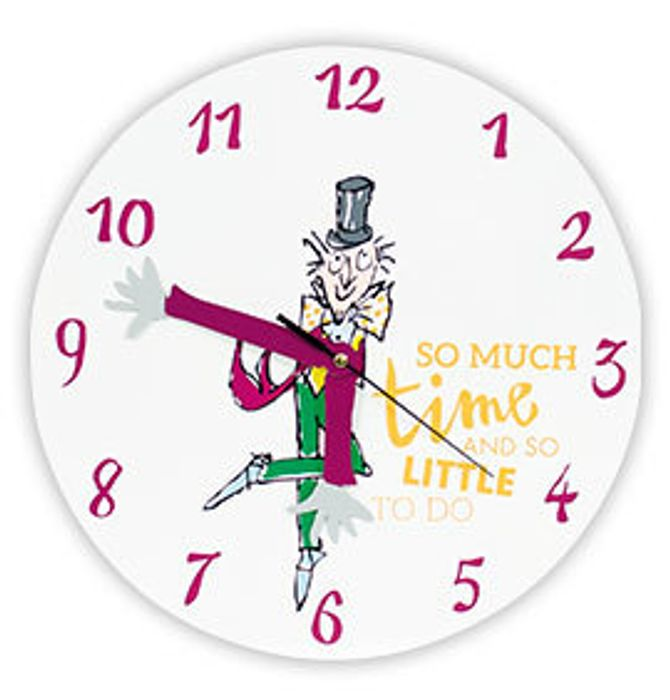 Half Price Charlie and the Chocolate Factory Clock