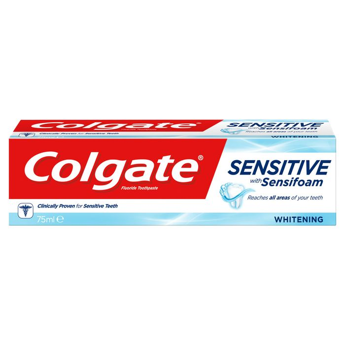 Colgate Sensitive Sensifoam White Toothpaste 75Ml