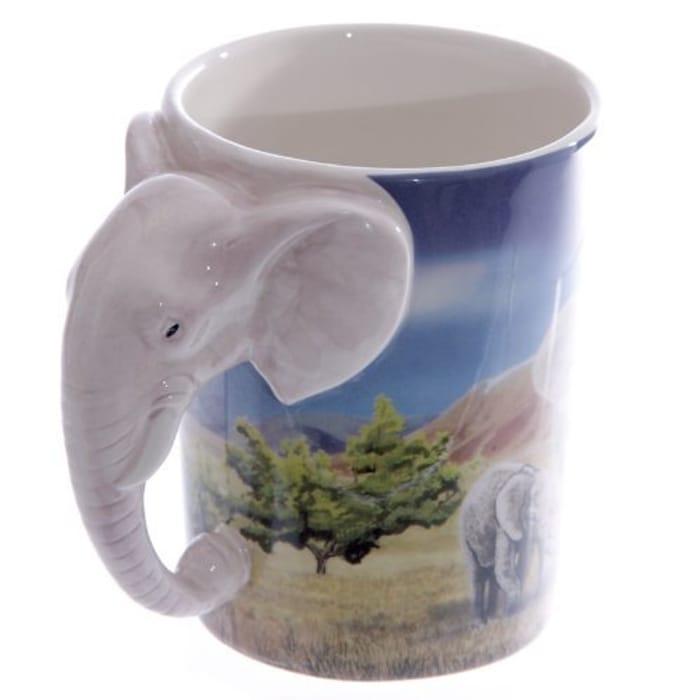 Puckator SMUG21 Mug with Elephant Handle