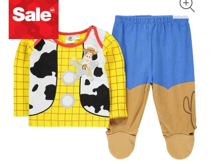 Character Pyjama Set Unisex Baby Only £4