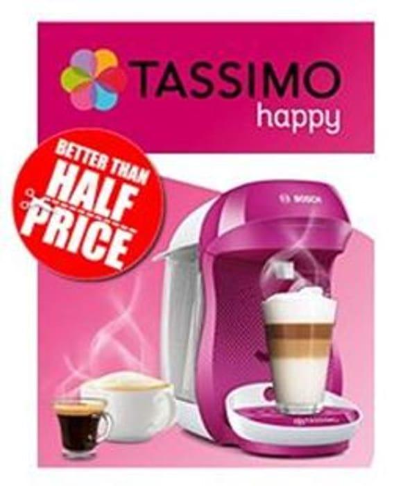 Bosch Tassimo Happy Coffee Machine (Several Colours)