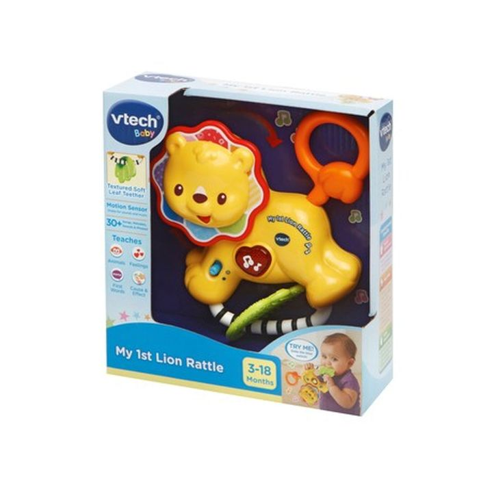 Vtech Baby My First Lion Rattle