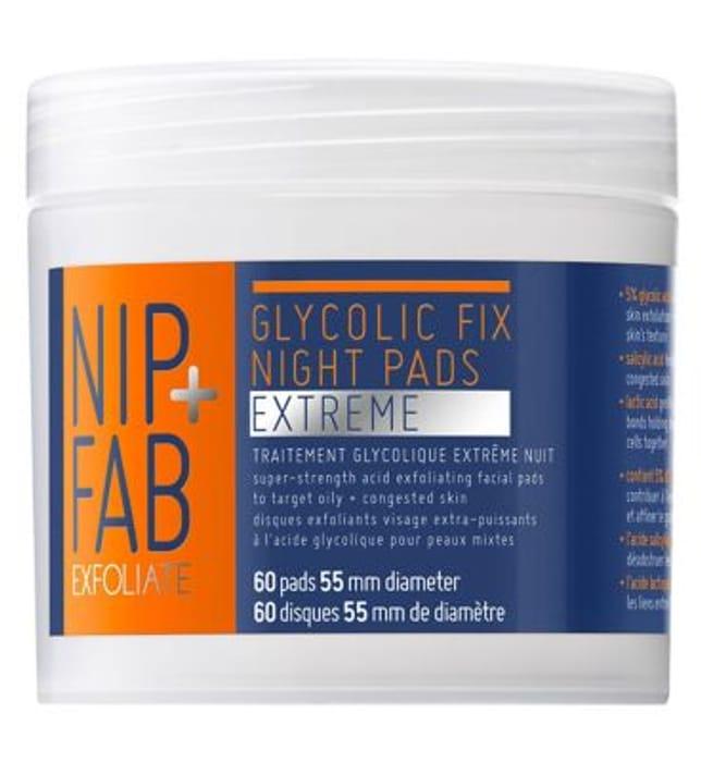 Nip + Fab Extreme Glycolic Fix Night Pads
