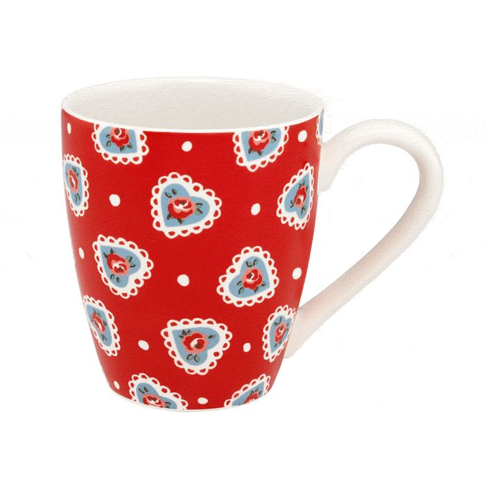 Lace Hearts Collectable Mug at Cath Kidston