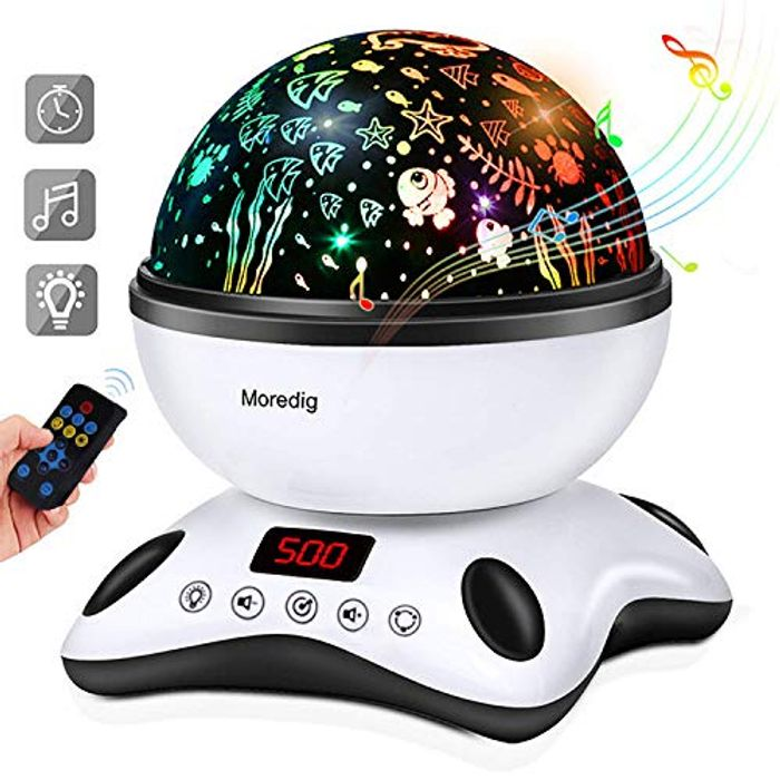 Baby Light Projector Remote Control and Timer Design Projection Lamp