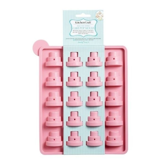 KitchenCraft Silicone Tiered Cake Pop Mould