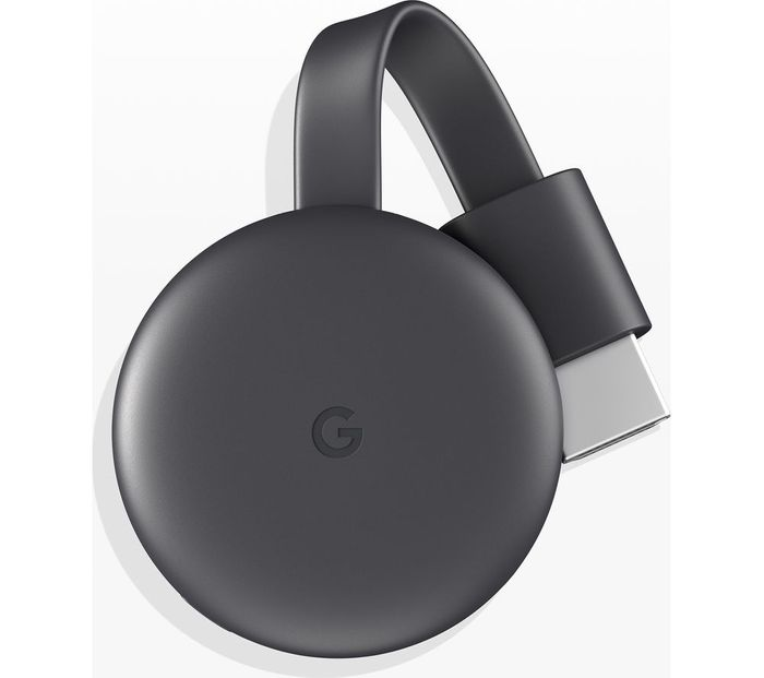 GOOGLE Chromecast - Third Generation, Charcoal