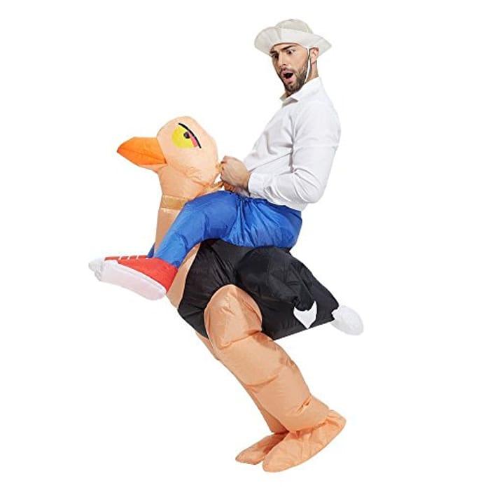 Inflatable Ostrich Halloween Fancy Dress