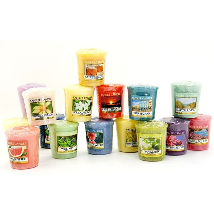 Yankee Candle 12 X Spring Summer Votive Candles