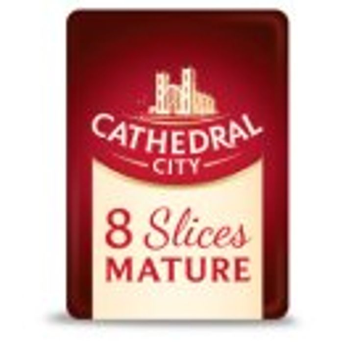 Cathedral City Grated Cheese or Cheese Slices Mild or Mature Save 50%
