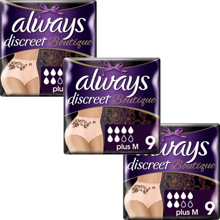 Free Always Discreet Pads and Pants