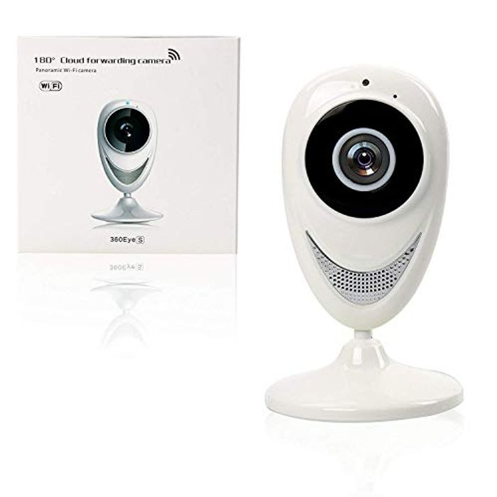 Price Drop! YaeKoo WiFi 180 Degree Panoramic HD 720P 1.0MP IP Camera