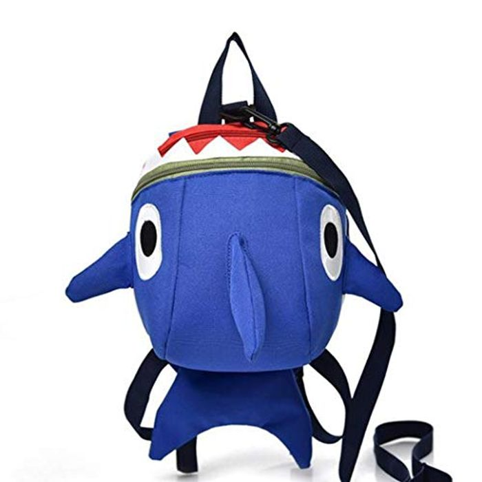 Cute Kids Shark Back Pack