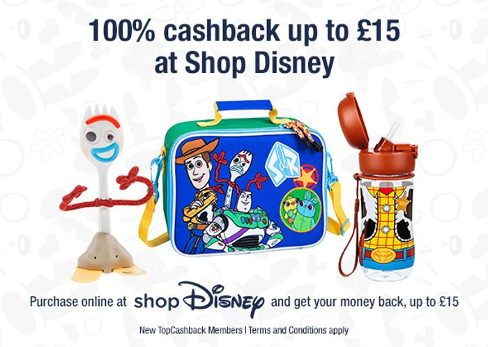 Toy Story 4 Products up to £15 after Cashback