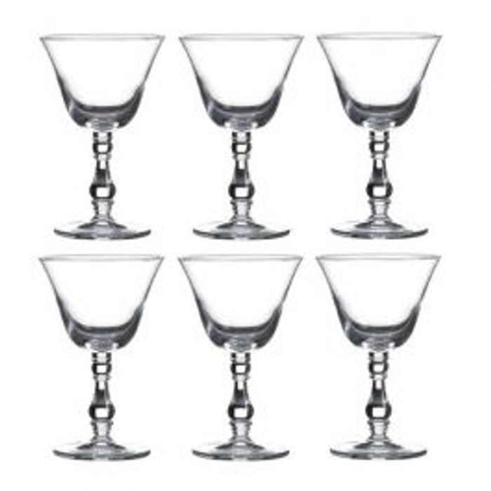 Goblet Glass 6 Pack - *BBQ Weekend Sale