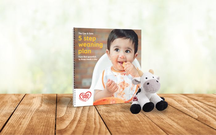 Free Cuddly Cow and 5 Step Weaning Plan