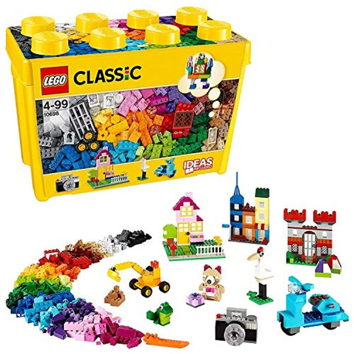 SAVE £5 at Amazon - LEGO Classic LARGE Creative Brick Box (10698) FREE DELIVERY