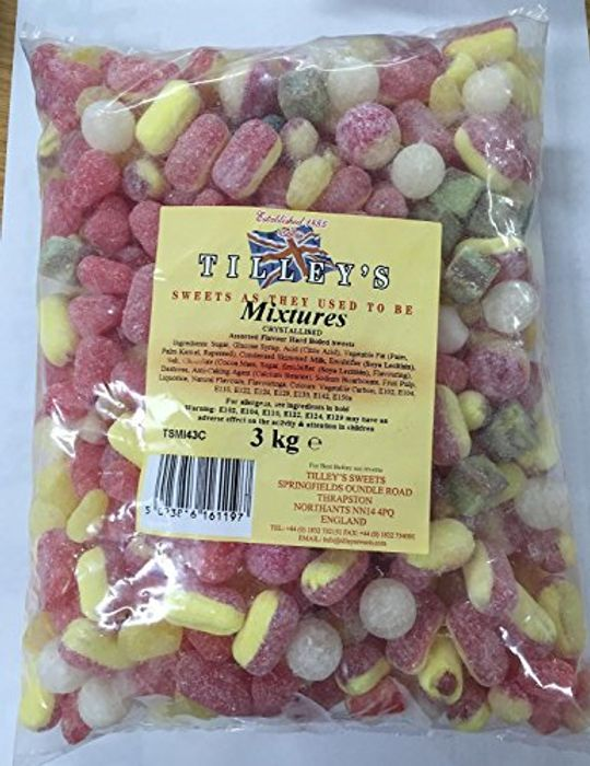 Best Price 3kg Hard Boiled Sweets & Delivered Free