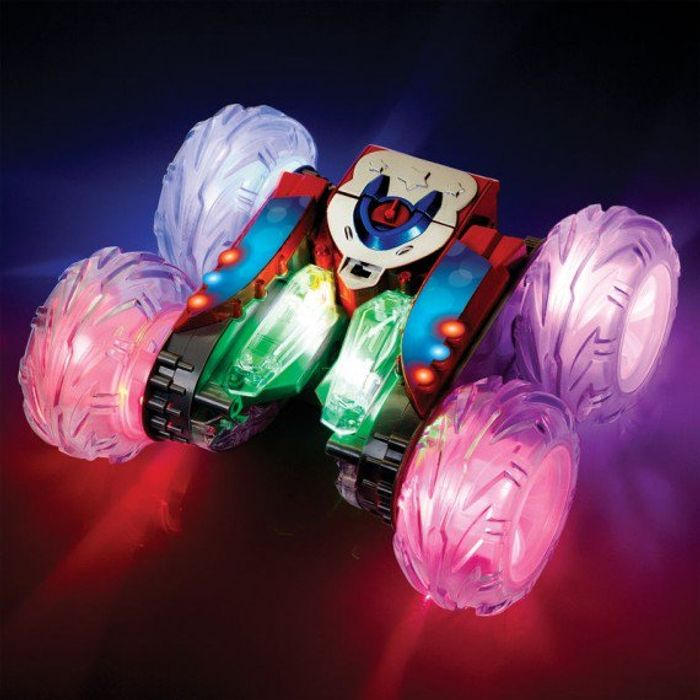 Stunt Racer 360 Red with Light-up Wheels