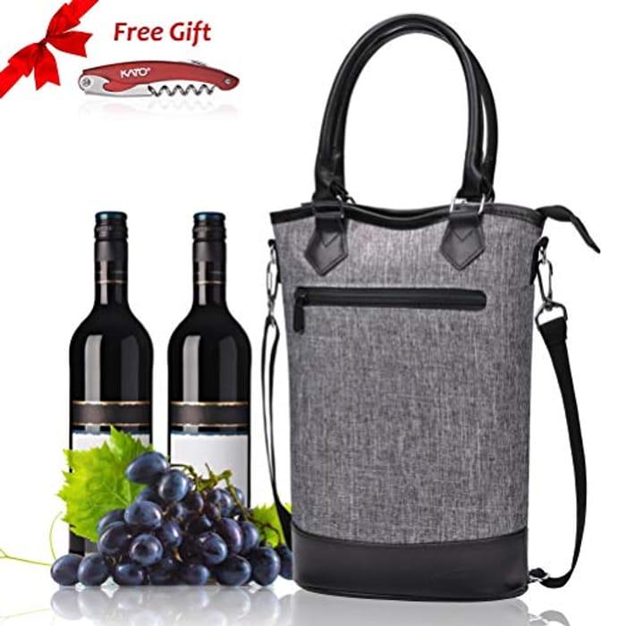 Kato Wine Cooler Bag + Free Corkscrew