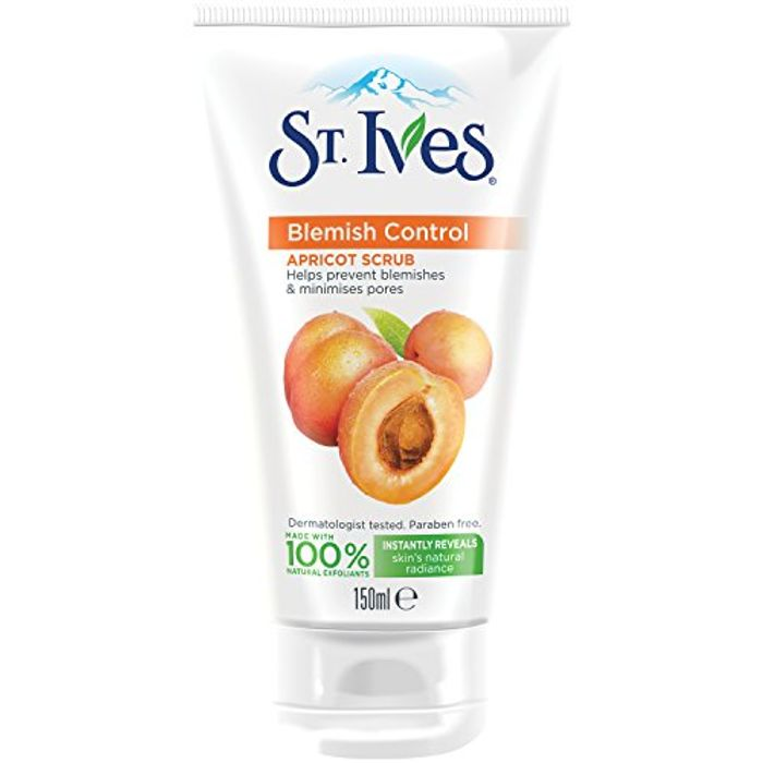 St. Ives Blemish Fighting Apricot Facial Scrub, 150 Ml - Pack of 3