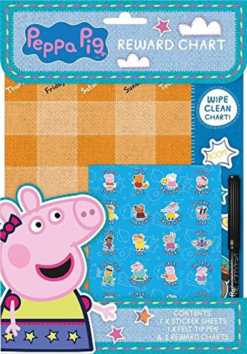 Peppa Pig Reward Chart - With Prime Delivery