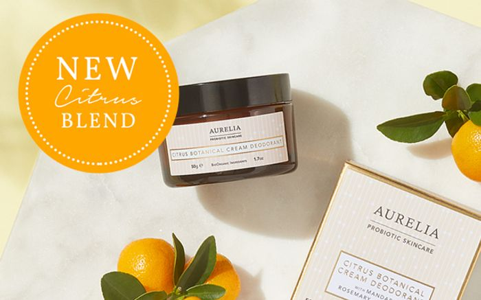 Free Citrus Botanical Cream Deodorant with 2 Deodorant Orders