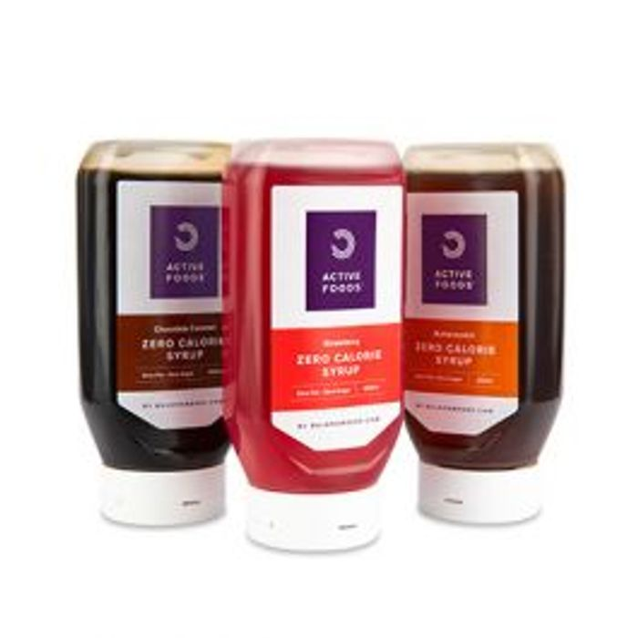 Save £2.11 on Zero Calorie Syrups